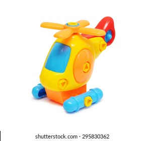 child toy in isolated white background