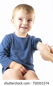 child vaccinations close up