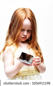 Child worries about the dangers of the digital world