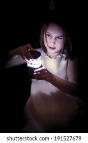 Child-girl - light in darkness