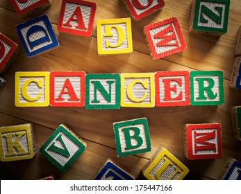 Childhood cancer concept
