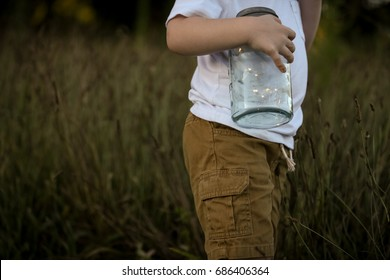 Childhood Outdoors: Fireflies in a Jar