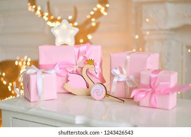 Children birthday decorations. one year birthday decorations.