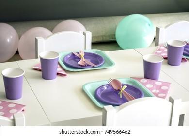 Children birthday party's decoration