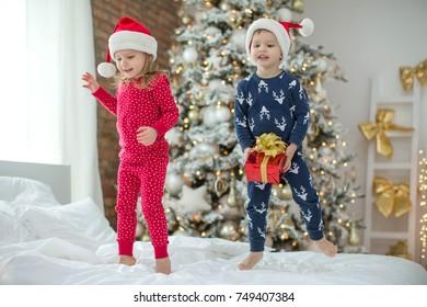 Children in Christmas