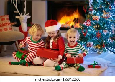 Christmas Pajamas Images Stock Photos Vectors Shutterstock
