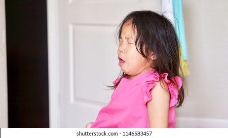 Children cough because of illness