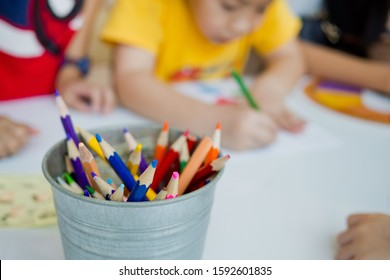 children doing homework with mother, kid write paper, family concept, learning time, student, back to school