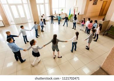 Children during break