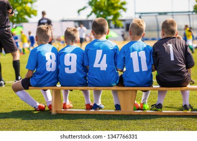 Children Football Team. Sports Club for Kids. Youth Junior Football Tournament Match. Football for Kids. Youth Football Tournament Camp & League Game