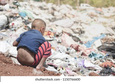 Children are forced to work on garbage collection, anti-trafficking concepts, and child labor.