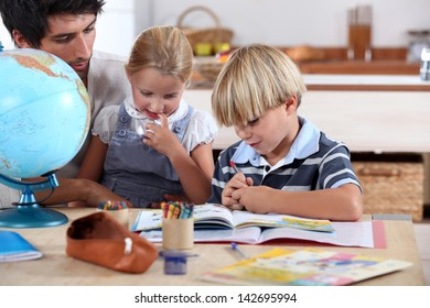 Children learning about the world