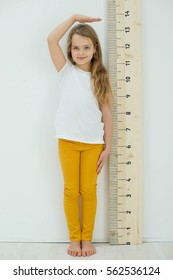Children are measured growth