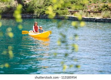 Children on the Lake