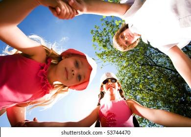 Children on walk