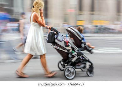 children with parents in the big city