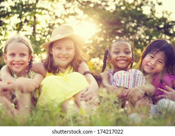 Children in a park