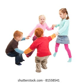 Children Playing Circle Game Images, Stock Photos & Vectors