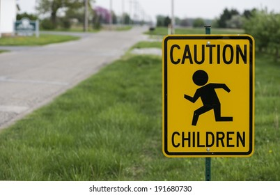 children running sign
