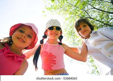 Children with smile