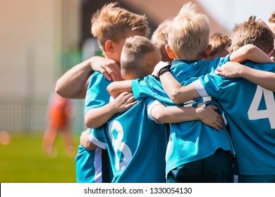 Children Team Sport. Kids Play Sports Game. Children Sporty Team United Ready to Play Game. Youth Sports For Children. Boys in Sports Jersey Red Shirts. Young Boys in Soccer Sportswear