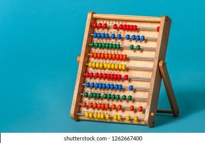 Children toy for brain development, mathematics.