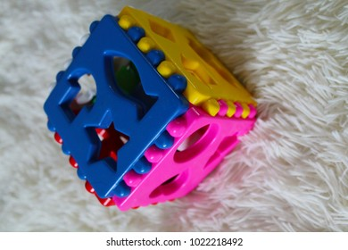 children toy designer close-up