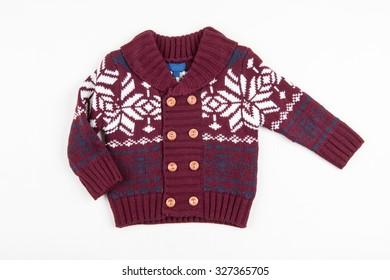 Children warm vest (sweater)