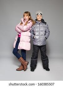 Boy Winter Clothes Images Stock Photos Vectors Shutterstock
