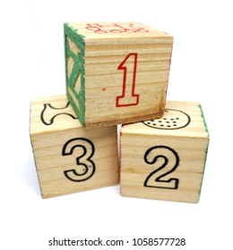 Children Wooden Number 123 Block Toy