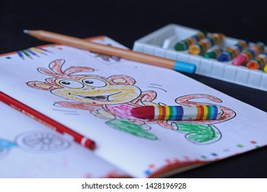 Adult Coloring Pages Animals Stock Photos Images
