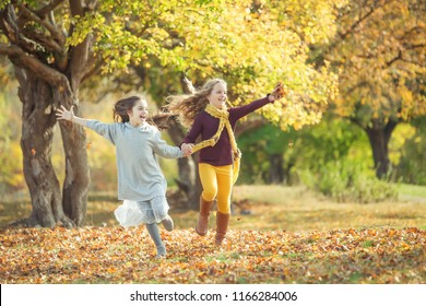 Children's fashion in autumn