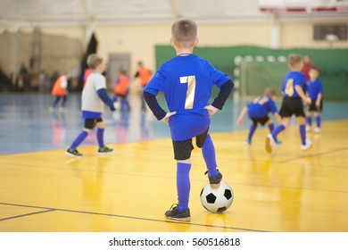 Children's football. Children's sports-health Center