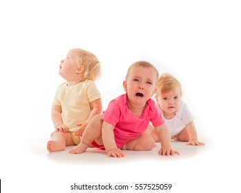 Children's grief of the three babies