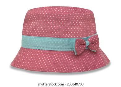 Children's hat on a white background
