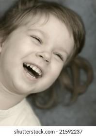 Children's laughter