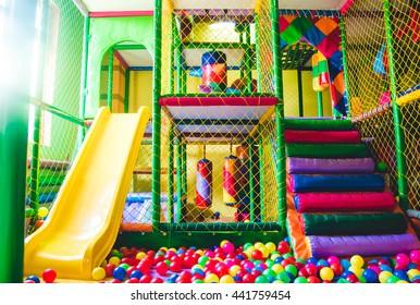 children's playground . kindergarden playground