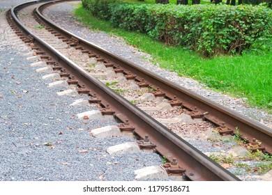 Children's railway in the Park
