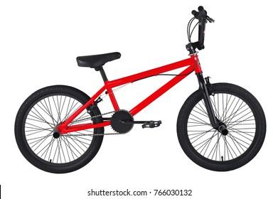 children`s red bike