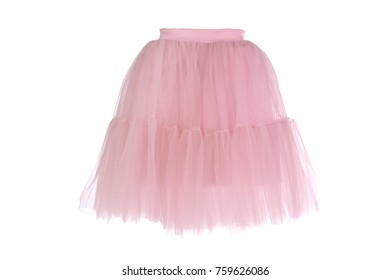 Children's skirt on a white background.