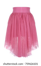 Children's skirt on a white background.