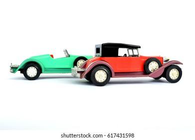 Children's toys - old cars