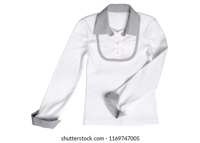 Children's wear - blouse isolated on white background