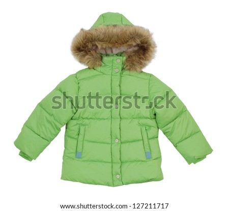 290a192f0 Childrens Winter Jacket Stock Photo (Edit Now) 127211717 - Shutterstock