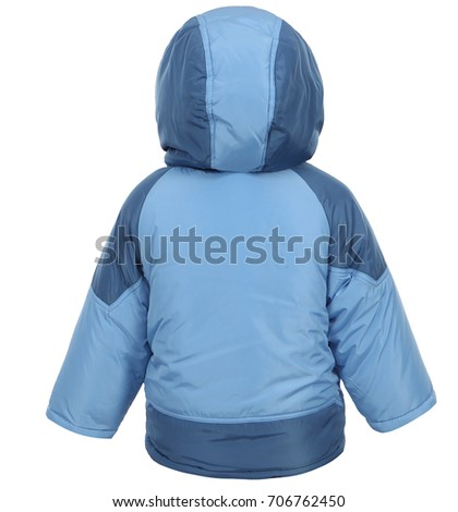 ba0439a02 Childrens Winter Jacket Winter Clothes Kids Stock Photo (Edit Now ...