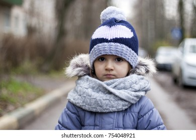 Children's winter portrait