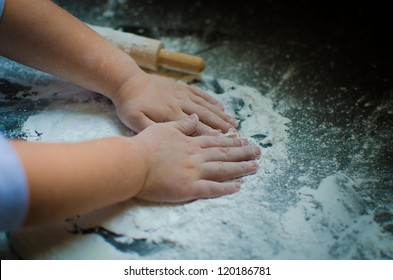 Child's Baking Hands