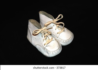 Child's shoes from the 1950s.