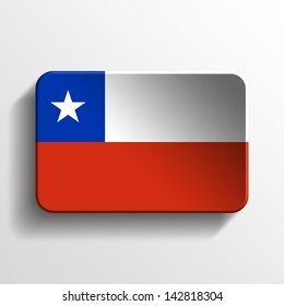 chile 3d button