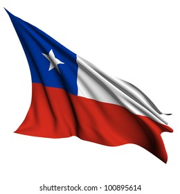 Chile flag- collection no_4